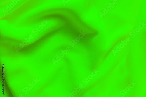 Background texture of vibrant green fleece - 274027336