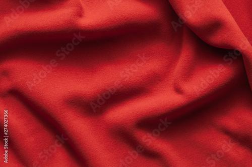 mata magnetyczna Background texture of red fleece sheet
