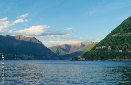 Beautiful summer Como lake ...