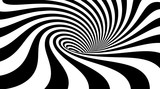 Fototapeta Perspektywa 3d - Abstract striped background.