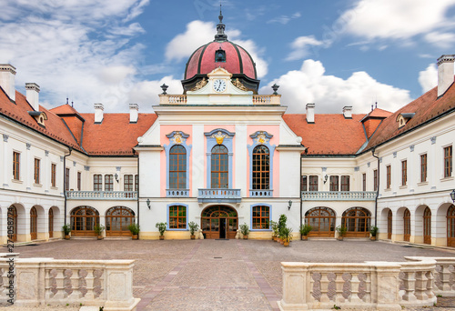 Fotografiet Royal Palace of Godollo in Hungary