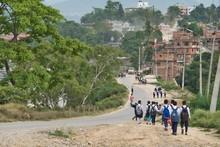 Children Walking Home From Sch...
