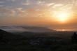 sunrise in Tenerife east mountains