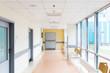 Shot of an empty corridor of a modern hospital