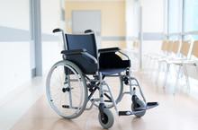 Empty Wheelchair In Hospital C...