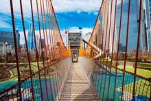 Playground Bridge In Chicago Maggie Daley Park