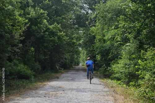 Fotografie, Obraz  Bicycle Trail