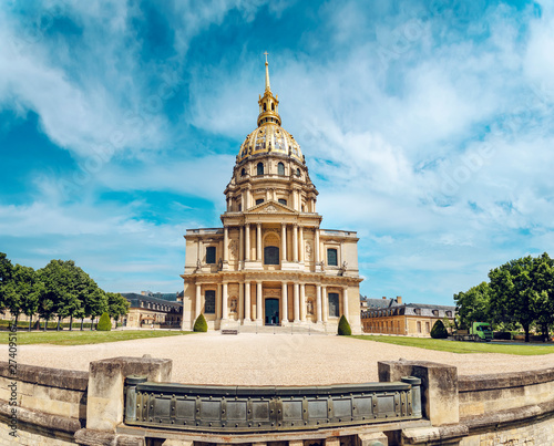 Foto op Plexiglas Historisch geb. Eglise du Dome, Les Invalides, Paris, France, Europe