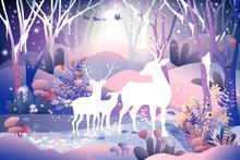 Fantasy Landscape Of Magic For...