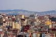Quarter Istanbul, densely built houses. Ordinary Residential Houses