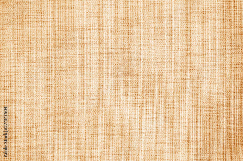 Foto op Aluminium Stof Brown linen fabric texture or background.