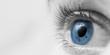 Leinwandbild Motiv Closup Of Blue Eye
