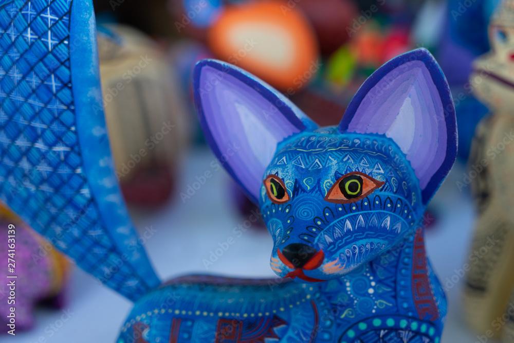 Alebrije, trancelate; Mexical art craft in Oaxaca <span>plik: #274163139   autor: Ai</span>