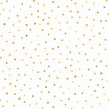 Gold Confetti Seamless Pattern...