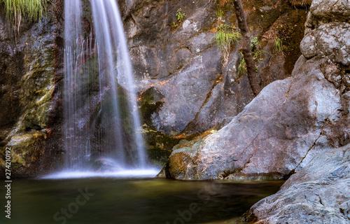2nd waterfall at Paradisos in Samothraki (GR)