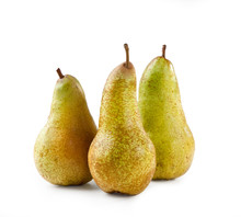 Abate Pears Isolated On White ...