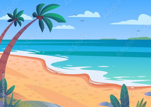 Foto  Beach summer