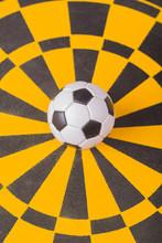 Fußball Auf Zielscheibe