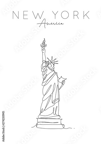 Tablou Canvas Poster new york statue of liberty
