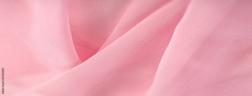 Fototapety, obrazy: light pink chiffon