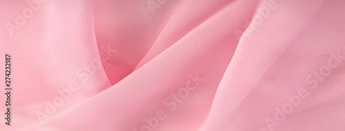 Fototapeta light pink chiffon