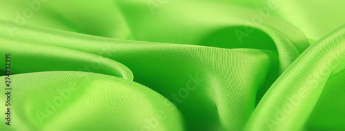 Fotografie, Obraz  soft green satin