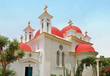 Greek Orthodox Monastery In Israel