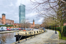The Bridgewater Canal At Manch...
