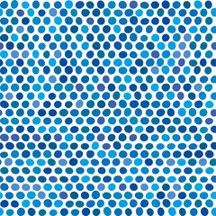 Seamless background of blue...