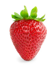 Strawberry Isolated On White B...