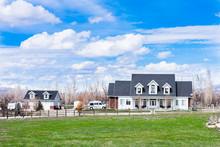 Beautiful Rural American Farmhouse