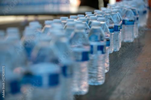 Fotografie, Obraz  Plastic Water Bottles