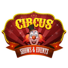 Carnival Circus Banner With Cl...