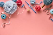 Various Wool Yarn And Knitting...