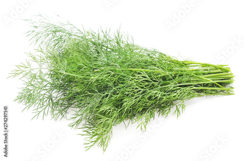 Photo  Bunch of green dill.