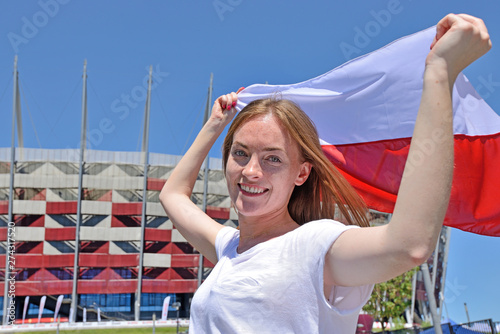 Fototapeta National Stadium - Warsaw, Poland obraz