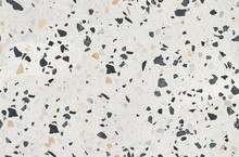 Terrazzo Texture. Polished Concrete Floor And Wall Pattern. Color Surface Marble And Granite Stone, Material For Decoration