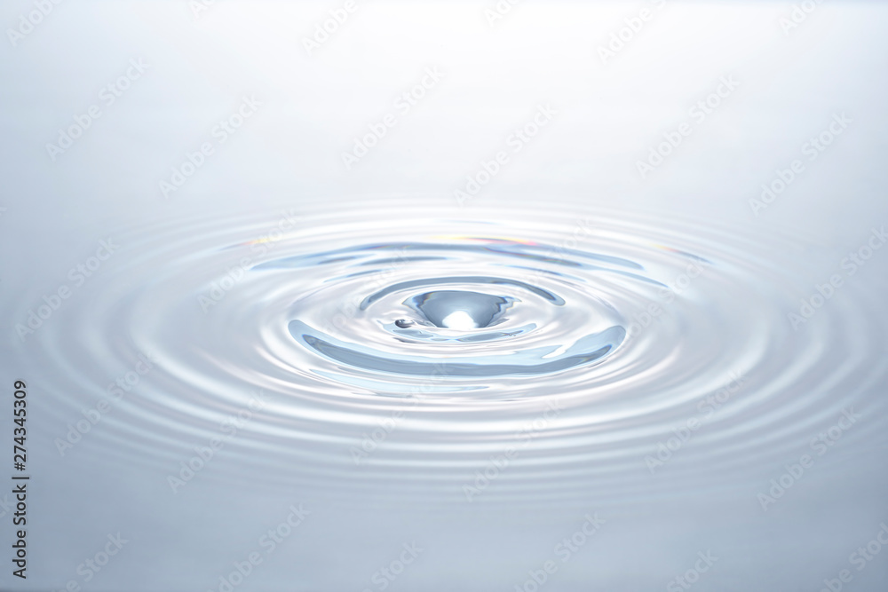 Fototapeta ripple of water