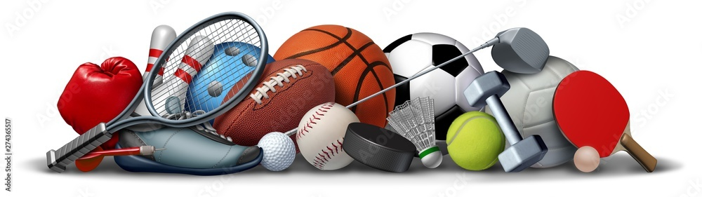 Fototapety, obrazy: Sport Objects