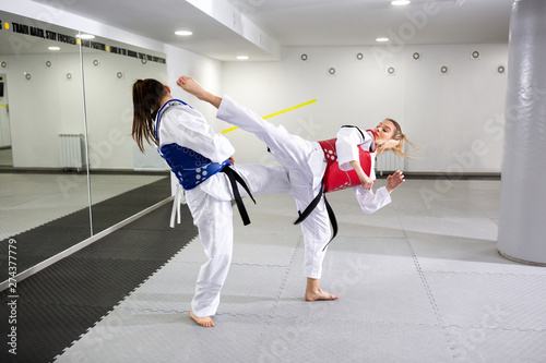 Protective gear in martial art sparring