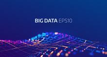 Big Data Abstract Vector Backg...