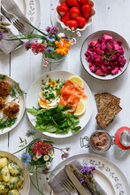 Scandinavian Midsummer Party Food