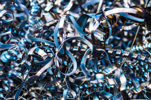 Closeup Twisted Spiral Steel S...