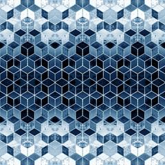Fototapeta Do pokoju Geometry modern repeat pattern with textures