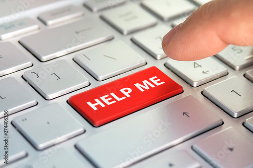 Fotografía Keyboard - with a big HELP