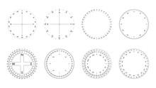Circular Protractor With Dial ...