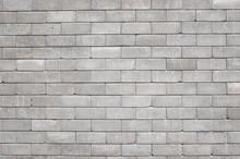 Old Cinder Block Wall Backgrou...