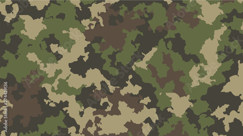 Fotomural camouflage background army abstract modern vector military backgound fabric text