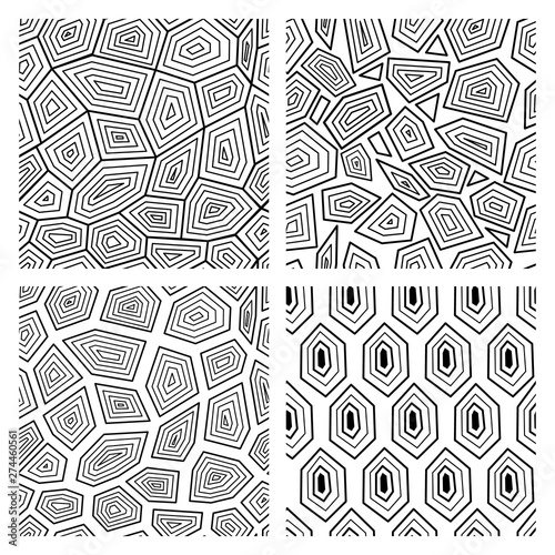 Geometric Seamless Art Deco Pattern Of Turtle Shell Vector Illustration Buy This Stock Vector And Explore Similar Vectors At Adobe Stock Adobe Stock,Pet Tortoise Breeds