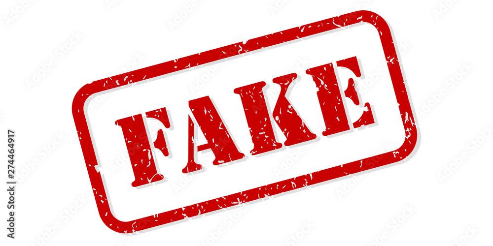 Fototapety, obrazy: Fake Rubber Stamp Vector